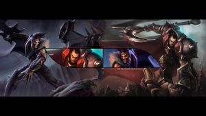 League of Legends : The Blood Brothers by IceCrumble