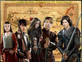 Kings and Queens of Narnia by AruthaC