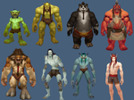 Horde Male Characters by ValAndy7