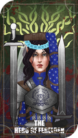The Hero of Ferelden (tarot) by Avai-chan