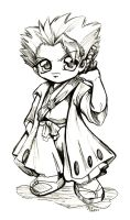 Bleach: Hitsugaya Chibi INK by bastett
