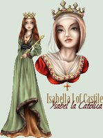 Isabelle I of Castile by ArienRavyn
