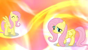 Fluttershy Wallpaper by olivebates