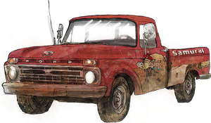 1966 Ford Pickup- Marcus Edition by WhoDrewThis
