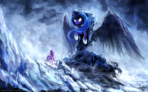 [Speedpaint]Spirit of Hearth's Warming yet to come by Nemo2D