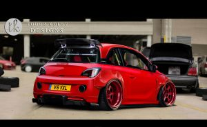 Vauxhall Adam by TKtuning