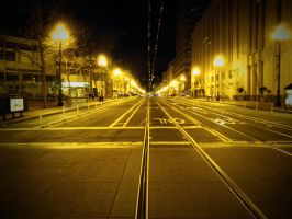 Market Street Silence by Mad-Twatter