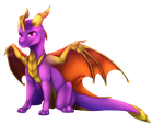 Spyro chibi by illegal-spyro-fan