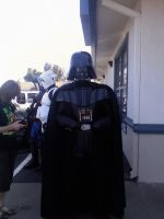 Darth Vader at FCBD by The-Animeniac