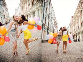my lovely Moscow girls 2 by Lucem