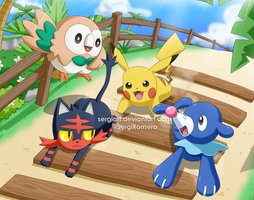Pokemon Sun and Moon - Welcome to Alola! by SergiART