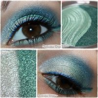 Essence 3D Eyeshadow 01 Irresistible Green by Talasia85