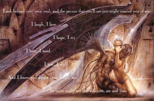 Angels and Demons by Kalolaina