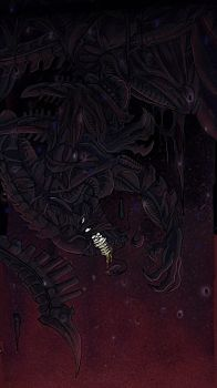 Dangling  by Xeno--Spitter
