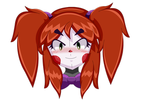 FNIA BABY (Front face) - FNAF Sister Location Baby by Mairusu-Paua