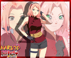 Naruto Movie the Last: Haruno Sakura by ioana24