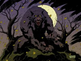 Werewolf Colorful by julioferreira