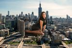 Natalia Phillips enjoys the day in the city by Tiny-Little-Lisa