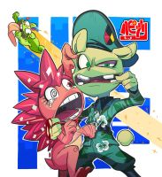 flippy and flaky with nutty by Gashi-gashi