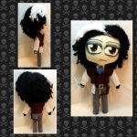 Con Plush 3 - Sweeney Todd by mihijime