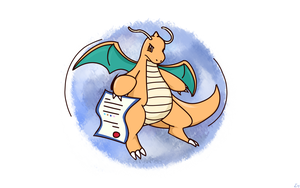 Dragonite | Weakness Policy by ishmam