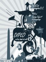 Diplo Poster by definitivedoodle