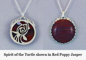 Spirit of the Turtle by KellyMorgenJewelry