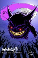 GENGAR- Blood, Guts version by PaleHorseman12