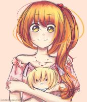 Aena and The Pupa Doll by Adderia