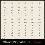 MINi iCONS Pack 01 by Guarrd