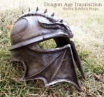 Dragon Age Inquisition Helmet by SKSProps