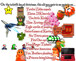 12 Days of Nintendo by tjhiphop