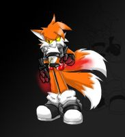 Niles the Fox colored by tailsfan1996