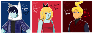 Adventure Time OCs by malengil