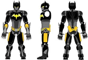 Bat Armour MkIII by Lord-Haych