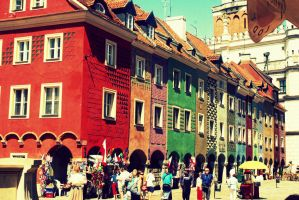 colors of Poznan by truehollyblue