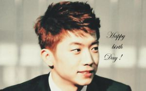 happy birthday Wooyoung by BadMinz