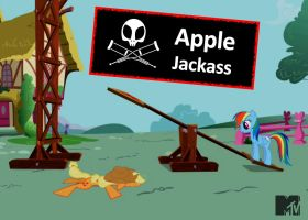 Apple Jackass by dan232323