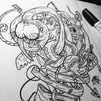 Walrus Dissection W.I.P by MarcosMachina