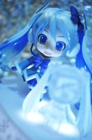 Snow Miku 2012! by nikicorny