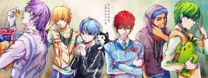 KISEKI NO SEDAI by circus-usagi