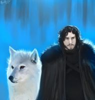 You Know Nothing, Jon Snow by winkla12