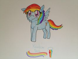 MLP: FiM - Rainbow Dash by RussellMimeLover2009