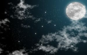Abstract Fullmoon Wallpaper by Jindra12