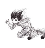 Gon dash! by uniqueguy