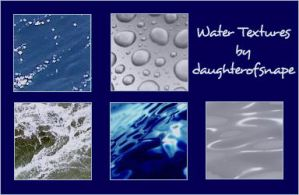 Water Textures by daughterofsnape