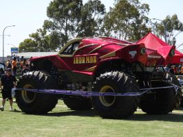Monster Jam Adelaide 2014: Iron Man 01 by lizardman22