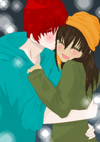 .:Love Keeps You Warm:.COLLAB by alexpc901