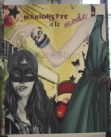 marionette a la mode, wip II by Imthecheese