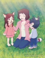Wolf Children by marcotte